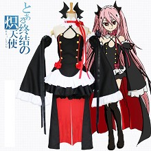 Seraph of the end cosplay dress cloth a set