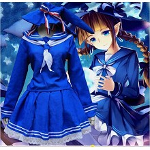Wadanohara and the Great Blue Sea cosplay dress cl...