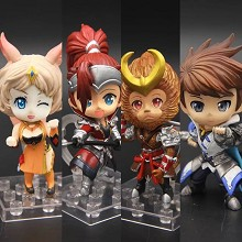 Hero Moba figures set(4pcs a set)