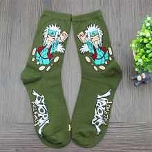 Naruto Jiraiya anime cotton socks a pair