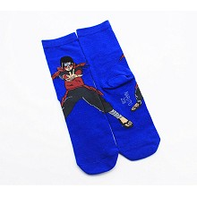 Naruto Senju Hashirama anime cotton socks a pair