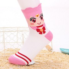 Sailor Moon anime cotton socks a pair