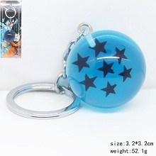 Dragon Ball anime key chain 7 stars