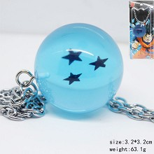 Dragon Ball anime necklace 3 stars