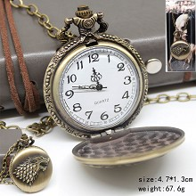 Game of Thrones small pocket watch necklace
