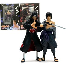 Naruto anime Sasuke and Itachi figures set(2pcs a set)