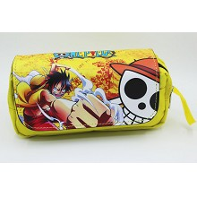 One Piece anime pen bag