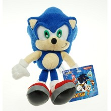 9inches Sonic plush doll