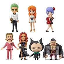 WCF One Piece FILM GOLD 2 anime figures set(7pcs a set)