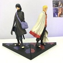 Naruto+Sasuke anime figures set(2pcs a set)