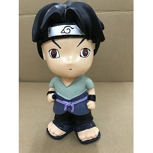 Naruto Sasuke anime resin money box