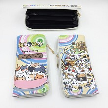 Neko Atsume anime long wallet