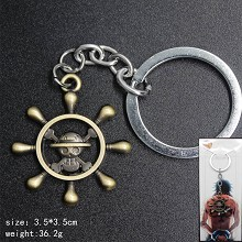 One Piece anime key chain