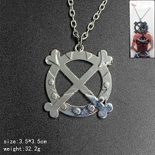 One Piece anime necklace