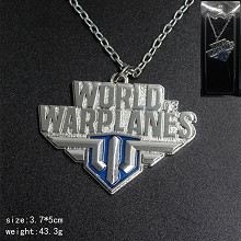 World of Warplanes necklace
