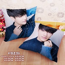 Star Leo two-sided pillow