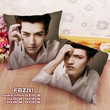 Star Kris two-sided pillow