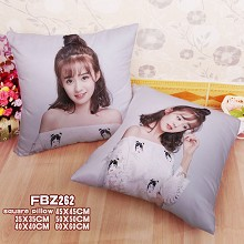 Star Hehui Zheng Zi two-sided pillow