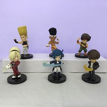 The King Of Fighters figures set(6pcs a set)