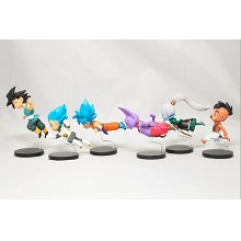 WCF flying Dragon Ball anime figures set(6pcs a se...