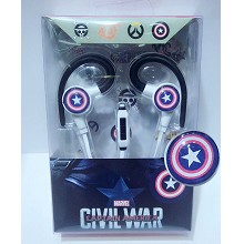 Captain America headphone
