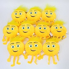 4inches emoji Rico plush dolls set(10pcs a set)
