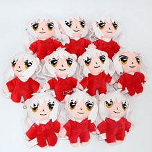 5inches Inuyasha plush dolls set(10pcs a set)
