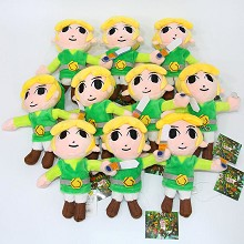 6inches The Legend of Zelda plush dolls set(10pcs ...