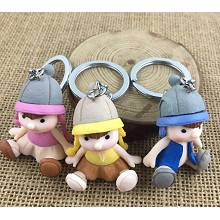The other anime figure doll key chains set(3pcs a ...