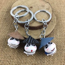 The other anime figure doll key chains set(3pcs a set)
