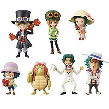 One Piece wcf GOLD Vol.4 figures set(7pcs a set)