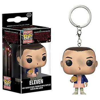 Funko-POP Stranger Things figure doll key chain