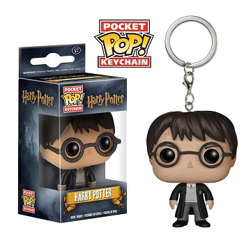 Funko-POP Harry Potter figure doll key chain