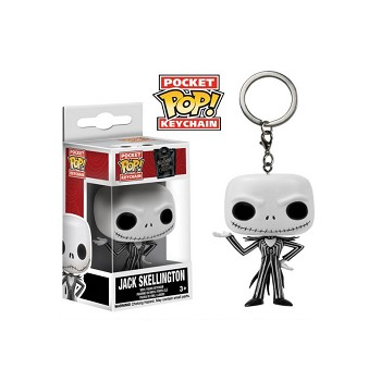 Funko-POP The Nightmare Before Christmas Jack Skellington figure doll key chain