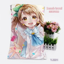 Lovelive anime bath towel(35X70)