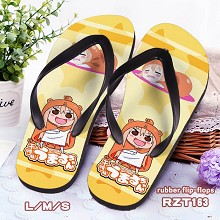 Himouto! Umaru-chan anime shoes slippers a pair