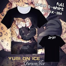 Yuri on Ice anime full print t-shirt