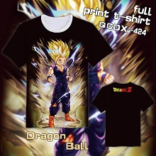 Dragon Ball anime full print t-shirt
