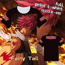 Fairy Tail anime full print t-shirt