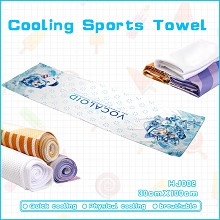 Hatsune Miku anime cooling sports towel