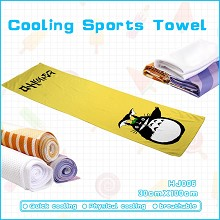 Totoro anime cooling sports towel