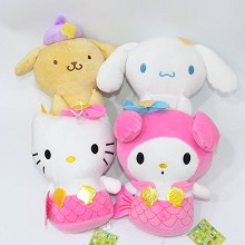 8inches Pom Pom Purin anime plush dolls set(4pcs a...