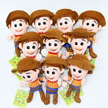 5inches Toy Story anime plush dolls set(10pcs a se...
