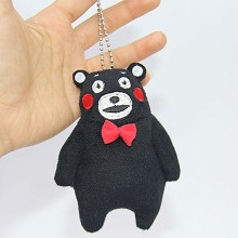 4inches Kumamon anime plush dolls set(10pcs a set)