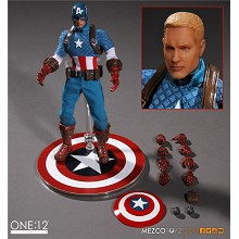 mezco One:12 Captain America figure