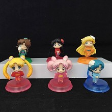 Sailor Moon anime figures set(6pcs a set)