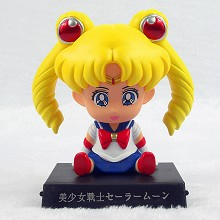 Sailor Moon anime shaking head figure