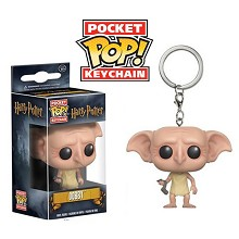 Funko-POP Harry Potter Dobby figure doll key chain