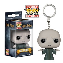Funko-POP Harry Potter Lord Voldemort figure doll key chain