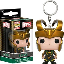 Funko-POP Loki figure doll key chain